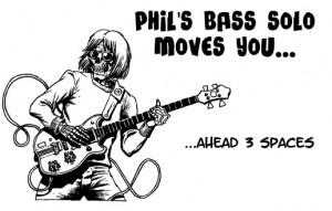 """Phil Lesh Bass Solo """"Chance"""" Card"""