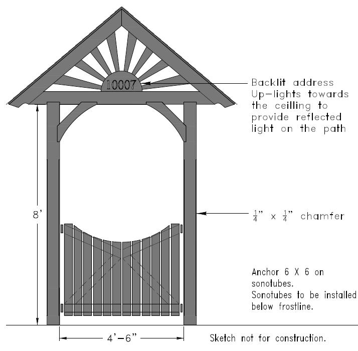 Front Gate Version 2 by Louis-Charles Pilon