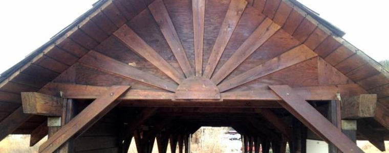 Nederland, CO Covered Foot Bridge
