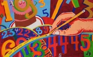 Jim Pollock - Phish Joy Box - Backwards Down The Number Line Print
