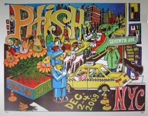 Jim Pollock - Madison Square Garden 2009 Phish Poster