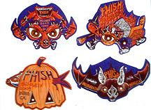 Jim Pollock - Phish Festival 8 Halloween Masks
