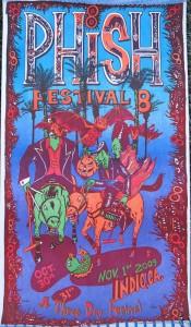 Jim Pollock - Festival 8 Color Print Phish Poster