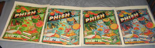 Phish Miami NYE 2009 Official Tyler Stout Poster